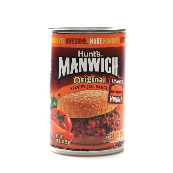 Hunts Manwich Original Sloppy Joe Hamburger Sauce