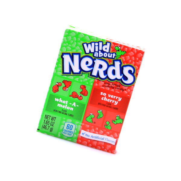 Wonka Nerds Wild Cherry - Watermelon