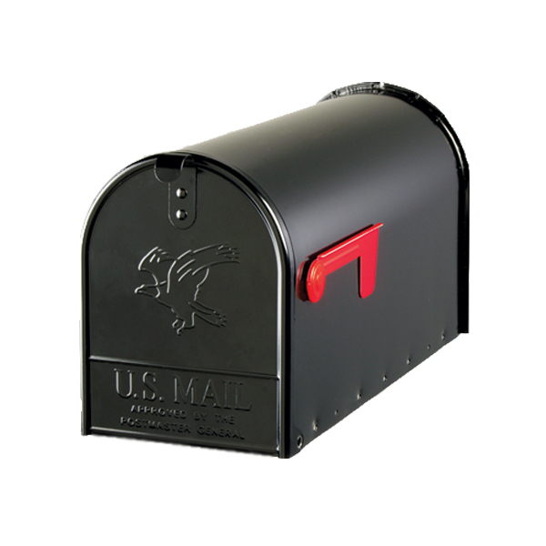 Original US Mailbox Elite - schwarz