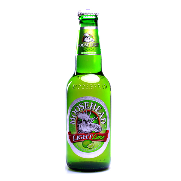 Moosehead Light Lime Flasche