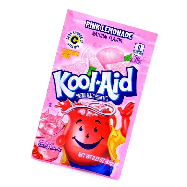 Kool Aid Drink Mix Pink Lemonade Tüte