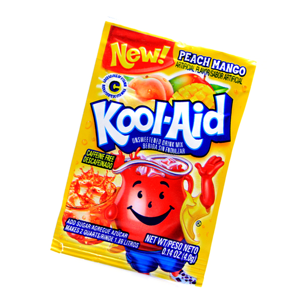 Kool Aid Drink Mix Peach Mango Tüte