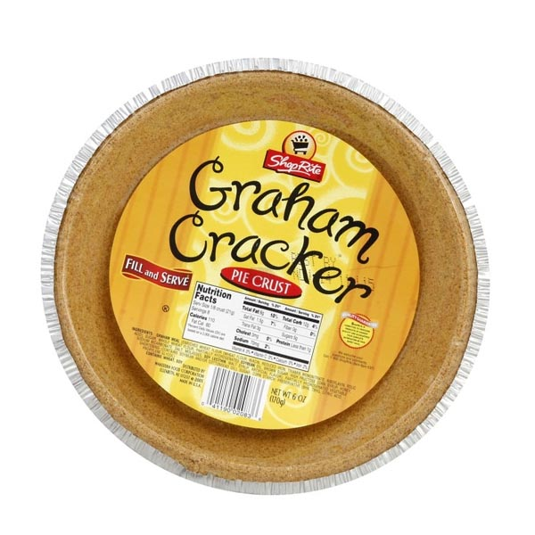 Shoprite Graham Cracker Pie Crust