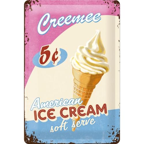 Nostalgic Art Ice Cream Blechschild