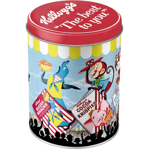 Nostalgic Art Kelloggs Sweet Eatin Carnival Vorratsdose Rund