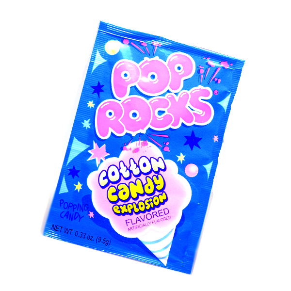 Pop Rocks Crackling Cotton Candy