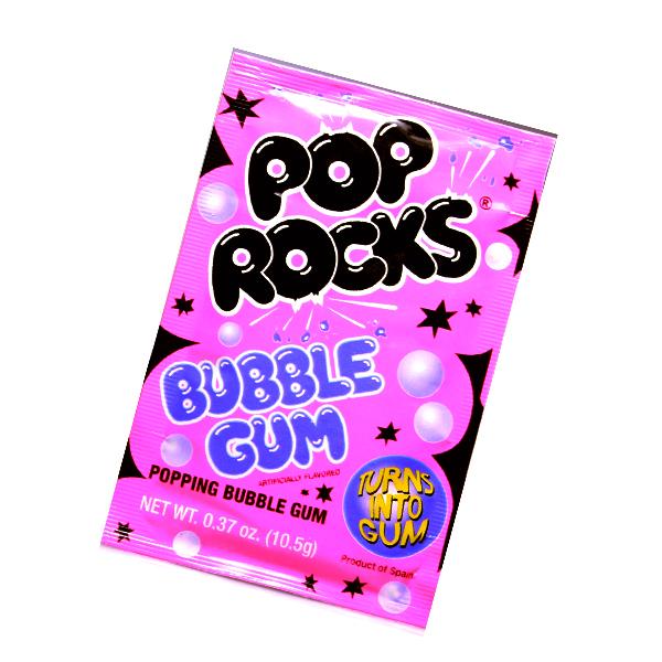 Pop Rocks Crackling Bubble Gum