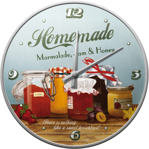 Nostalgic Art Homemade Marmalade Wanduhr