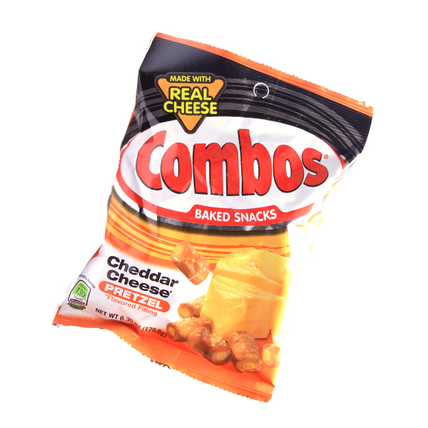 Combos Baked Snack - Cheddar Cheese Pretzel