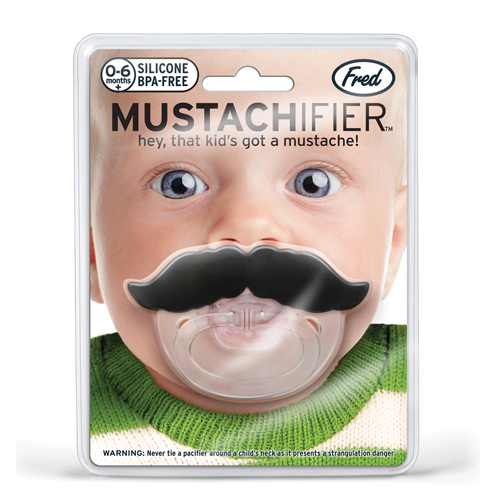 Mustache - Schnuller