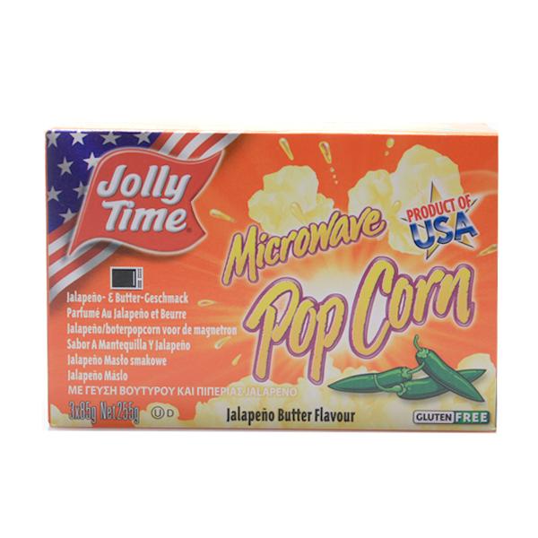 Jolly Time M.-  Popcorn Jalapeno Butter