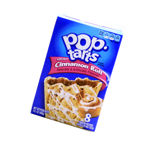Kelloggs Pop-Tarts frosted Cinnamon Roll