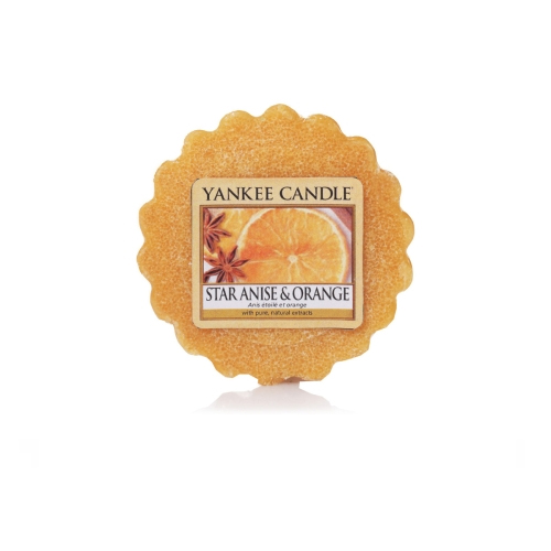 Yankee Candle Tart Star Anise & Orange