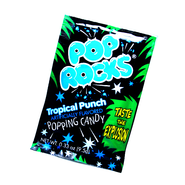 Pop Rocks Crackling Tropical Punch Candy