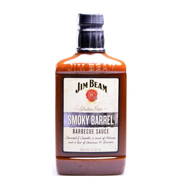 Jim Beam Smoky Barrel BBQ Sauce