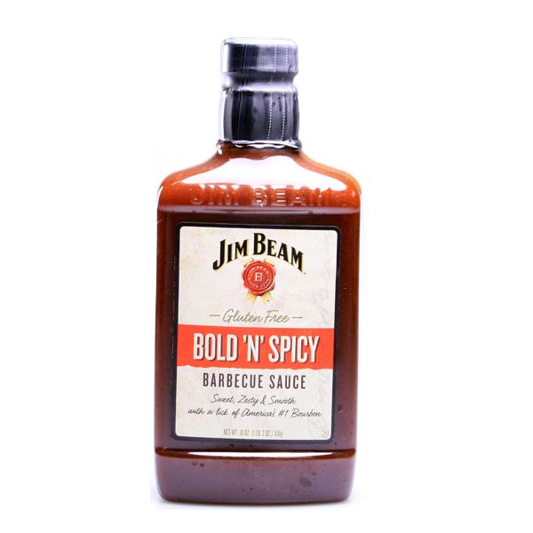 Jim Beam Bold n Spicy BBQ Sauce