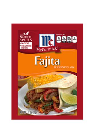 Mc Cormick Fajita Seasoning Mix