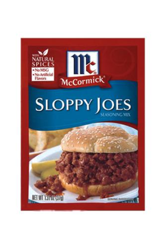 Mc Cormick Sloppy Joes Seasoning Mix