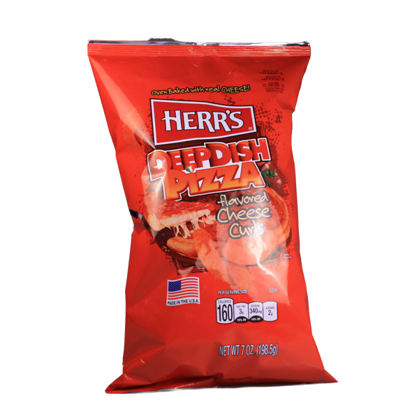 Herrs DeepDish Pizza Cheese Large Pack