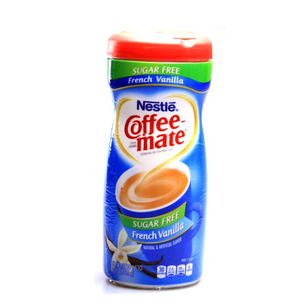 Nestle Coffee Mate French Vanilla sugar free