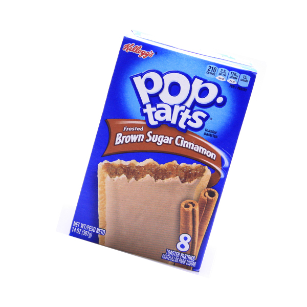 Kelloggs Pop-Tarts frosted brown Sugar Cinnamon