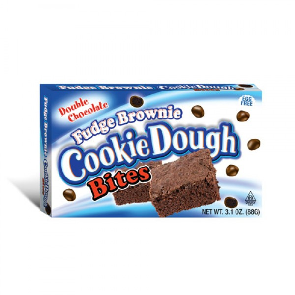 Cookie Dough Fudge Brownie Bites