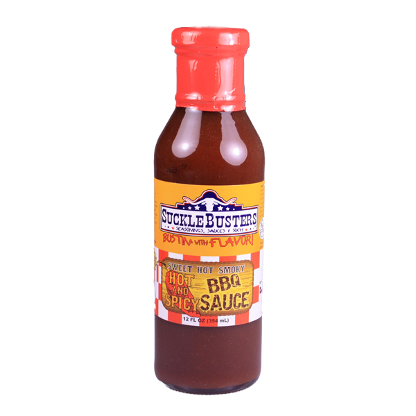SuckleBusters Hot & Spicy BBQ Sauce