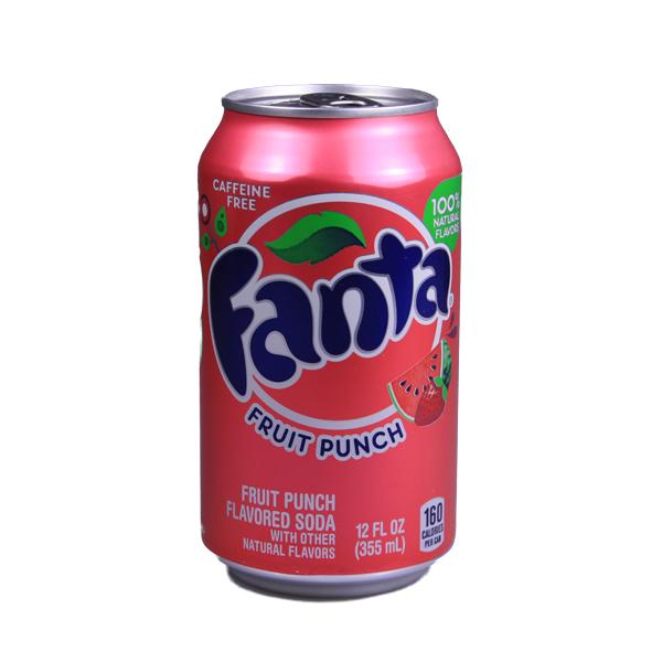 Fanta Fruit Punch - USA Ware