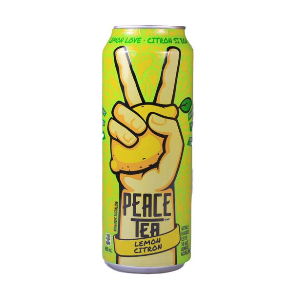 Peace Tea Lemonade + Tea
