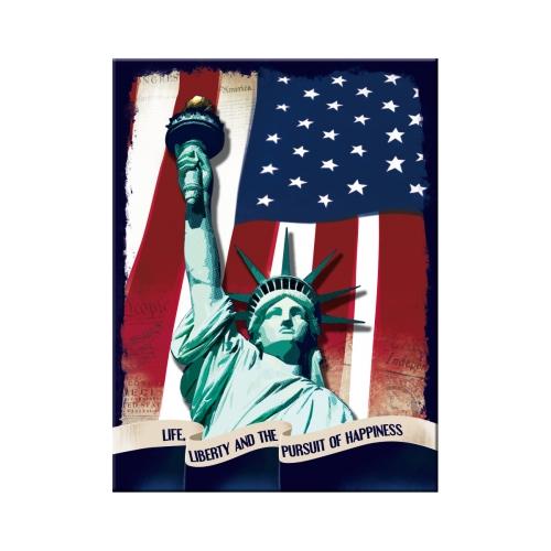 Nostalgic Art Statue of Liberty Magnet