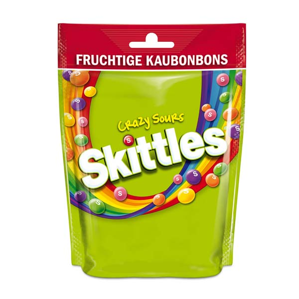 Skittles Crazy Sours Bag