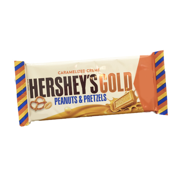 Hersheys Gold Peanuts&Pretzels King Size