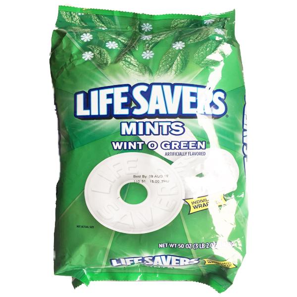 LifeSavers Wint-O-Green Beutel - 1.41 Kg