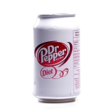 Dr Pepper Diet - 330 ml - EU Ware