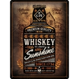 Nostalgic Art Whiskey Sunshine Blechschild 30x40 cm