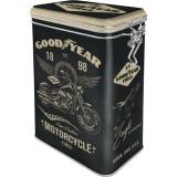 Nostalgic Art Goodyear Motorcycle Aromadose