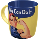 Nostalgic Art We Can Do It Tasse