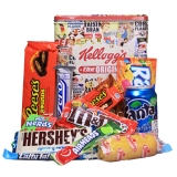 American Sweets Box Premium mit Blechdose