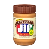 Jif Peanut Butter Creamy Natural