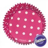 Wilton Cupcake Form - Pink 75 Stück