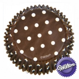 Wilton Cupcake Form - Brown 75 Stück