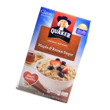 Quaker instant Oatmeal - Maple & Brown Sugar