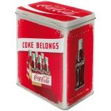Coca-Cola Logo Red Vorratsdose L