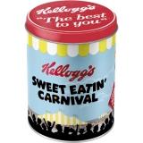 Kelloggs Sweet Eatin Carnival Vorratsdose Rund