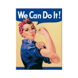 Nostalgic Art We can do it ! Magnet