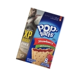 Kelloggs Pop-Tarts unfrosted Strawberry