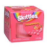 Skittles Scented Candle Strawberry