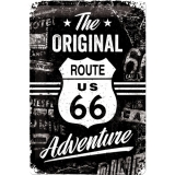 Route 66 The Original Adventure Blechschild