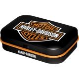 Harley Davidson Logo Pillendose
