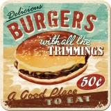Burgers Untersetzer